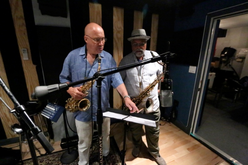 Steve Slagle and Joe Lovano