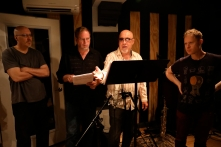Steve at DEDICATION recording