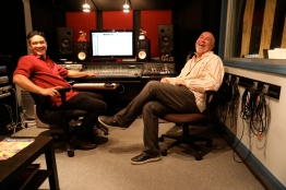 Steve smailes w/Chris Sulit ,engineer