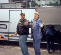 Getting on the road bus� in style with John Stubblefield, Mingus Big Band at North Sea Festival, Holland '98
