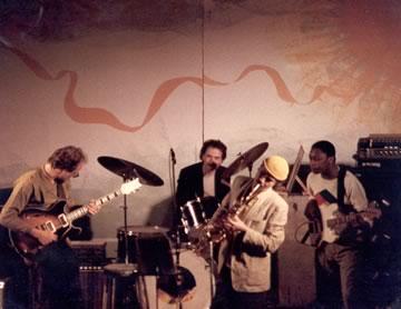Steve Slagle Group (with John Scofield guitar; Daryl Jones bass; Joey Baron � drums), NYC Concert, Early 80s